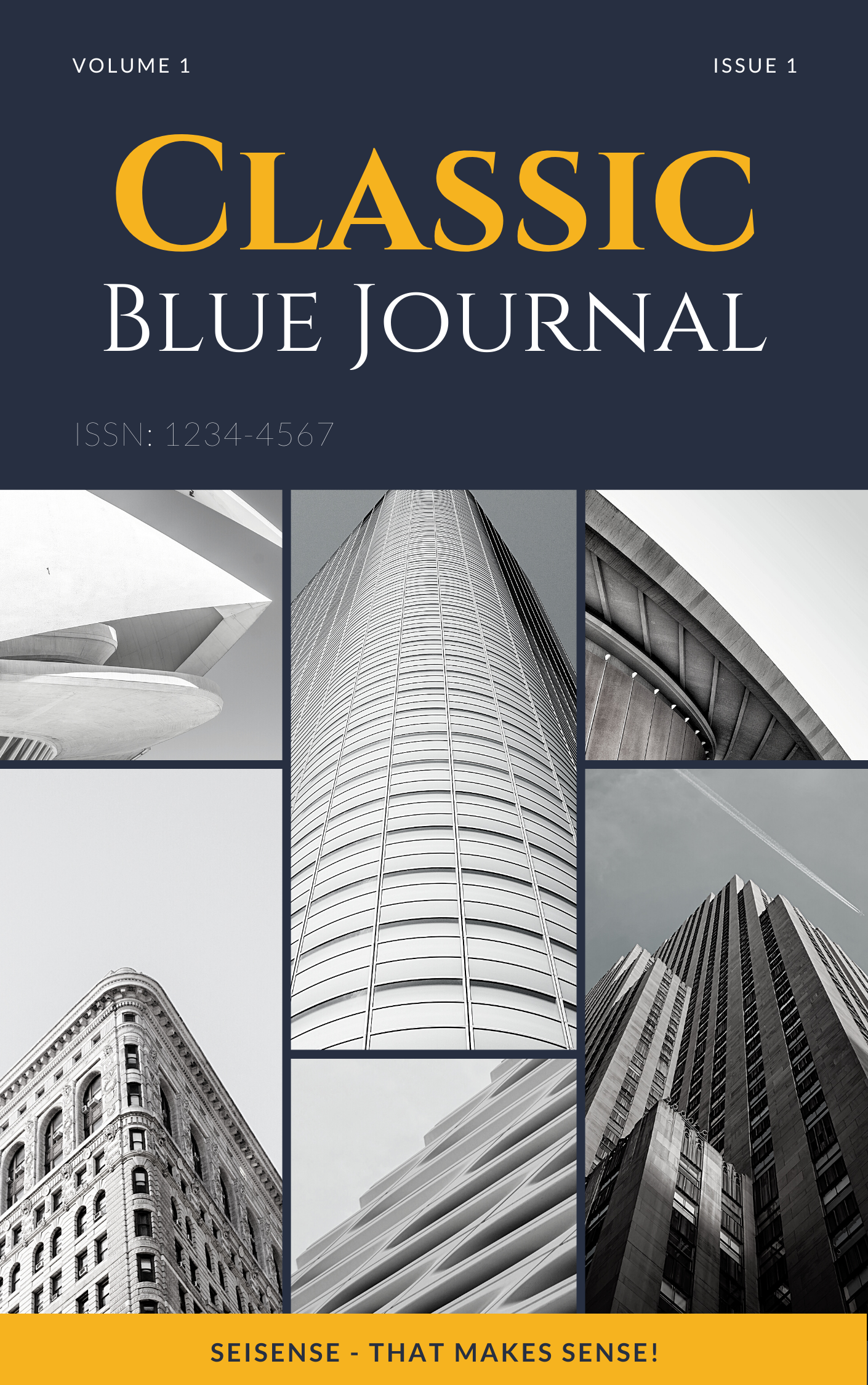 Classic Blue Journal